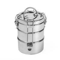 To-Go Ware 3 Tier Stainless Steel Lunchbox - 1 Count