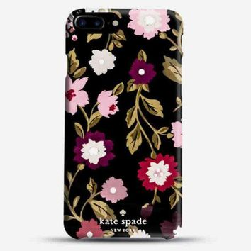 Kalete Kate Spade Fashion Cute Couple Phone  Case For iPhone 7 iPhone 7 plus iphone 6 6s 6plus 6s plus
