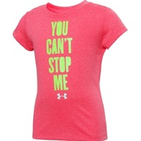 Under Armour Girls' Toddler You Can't Stop Me Graphic T-Shirt - Dick's Sporting Goods