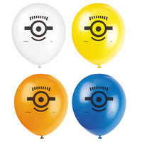 Minions Despicable Me - Printed Latex Balloons (8)