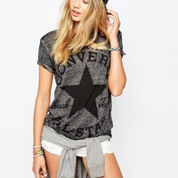 Converse T-Shirt With Oversized Logo