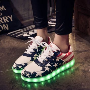 HoverKicks LED Luminous Light-up USA