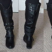 Gallery For > Black Widow Work Boots