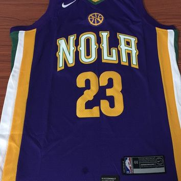 New Orleans Pelicans #23 Anthony Davis City Edition Jersey