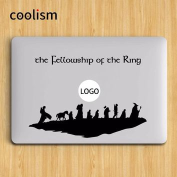 Lord of the Ring Laptop Sticker for Apple Macbook Decal Pro Air Retina 11 12 13 15 inch Notebook Skin Mac Surface Book Stickers