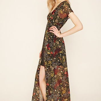 Contemporary Floral Maxi Dress