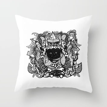 30 Throw Pillow by thai1996