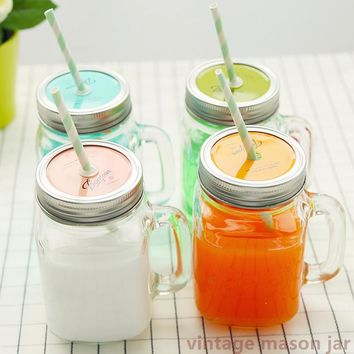 Summer Ice cream Fruit Installed Cold Drink Infusion Bottle To Drink Cute Water Bottles Mason Jar Mug Jarras Home Camping use