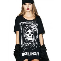 KILLING IT BOYFRIEND TEE