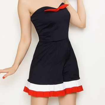 SALE Sailor Romper SXL by FablesbyBarrie on Etsy