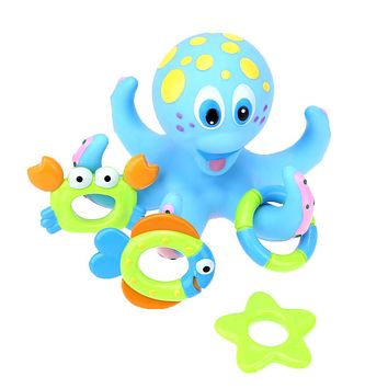 Baby Wind Up Toys Bath Toys Octopus Kids Baby Water Bath Toys For Children Playing Games Shower Swimming Pool