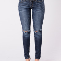 Now I'm Here Jeans - Dark Wash