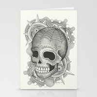 Dia De Muerto - Explosion Stationery Cards by haleyivers