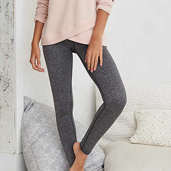 Aerie Play Legging, Dark Heather