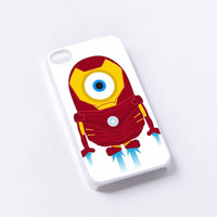 despicable ironman iPhone 4/4S, 5/5S, 5C,6,6plus,and Samsung s3,s4,s5,s6