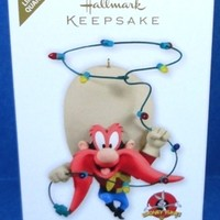 2012 Yuletide Yosemite Hallmark Looney Tunes Retired Ornament