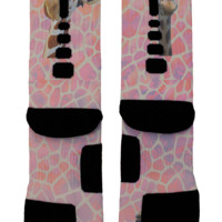 Giraffe Custom Nike Elites