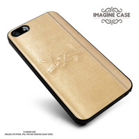 Inspired YSL Gold wallet case cover for iphone, ipod, ipad and galaxy series