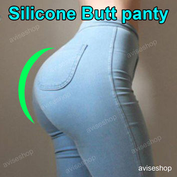 big Silicone Buttocks Pads Butt Enhancer body Shaper Panty Tummy Control Girdle