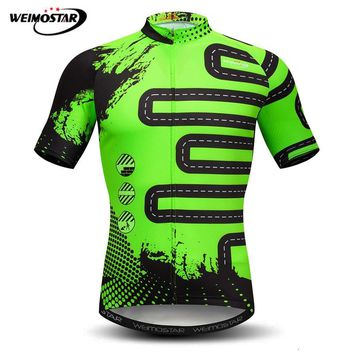 Weimostar Cycling Jersey 2018 pro team Summer MTB Bike Jersey Maillot Ciclismo Quick Dry Bicycle Wear Clothes Road Cycling Shirt