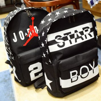 Fashion Trending Fashion Sport Laptop Bag Shoulder School Bag Backpack