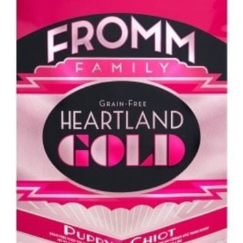 FROMM DOG DRY - HEARTLAND GOLD GRAIN FREE PUPPY - 12LB - FROMM PET FOODS - UPC: 72705104239 - DEPT: FROMM PET FOOD