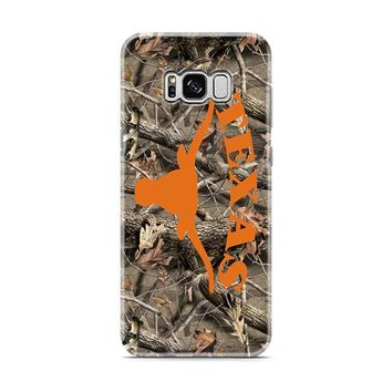 Texas Longhorns (camo branches) Samsung Galaxy S8 | Galaxy S8 Plus Case