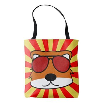 Super Duper Sly Fox Tote Bag