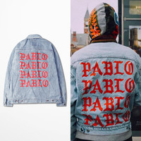 Denim Jacket  I FEEL LIKE PABLO