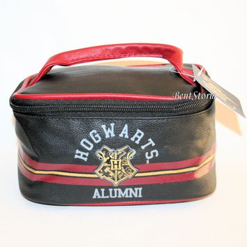 Licensed cool Harry Potter Hogwarts School Alumni Luggage Train Case Travel Tote Cosmetic Bag