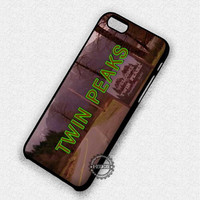 Twin Peaks X Files - iPhone 7 6 Plus 5c 5s SE Cases & Covers