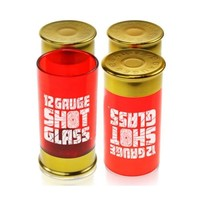 Mustard Shot Gun 12 Gauge Shell Shot Glasses Set Bullet Party Father's Day Gift