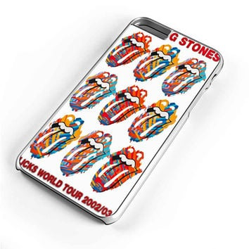 The Rolling Stones Licks World Tour iPhone 6S Plus Case iPhone 6S Case iPhone 6 Plus Case iPhone 6 Case