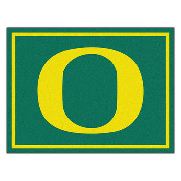 Oregon Ducks NCAA 8ft x10ft Area Rug