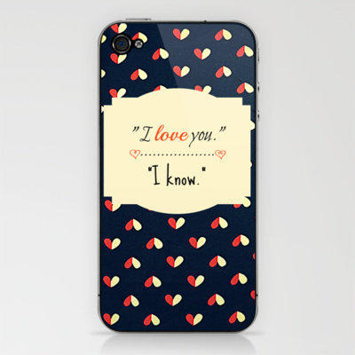 I Know iPhone & iPod Skin by RDelean | Society6