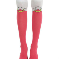 Sailor Moon Sailor Chibi Moon Pink Costume Knee Socks