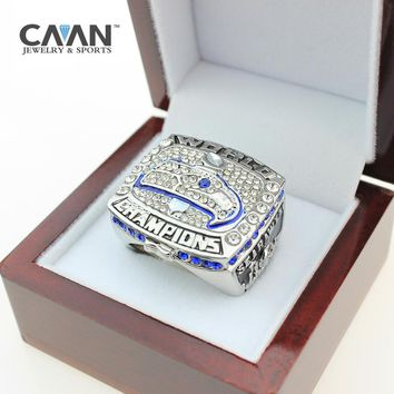 2015 & 2013 Super Bowl Seattle Seahawks Championship Ring for men