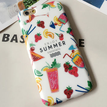 Original Summer iPhone 5se 5s 6 6s Plus Case Cover Gift 309