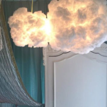 Hanging Cloud LED Light