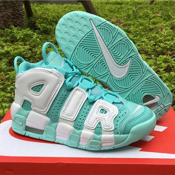 Nike Air Uptempo Island Green 415082-300 Size 36-40