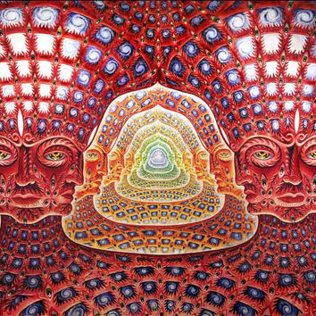 Alex Grey Tool 10000 Days Art Poster 11x17