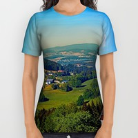 Another panoramic view into spring season All Over Print Shirt by Patrick Jobst   Society6