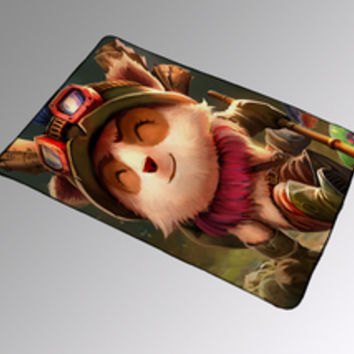 Teemo League of Legends Movie Blanket Kids Woman Bedding Gift Birthdays Quilts