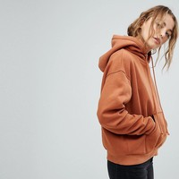 Weekday Hooded Sweatshirt at asos.com