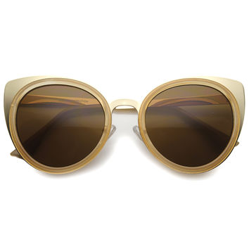 AMINA CAT EYE SUNGLASSES