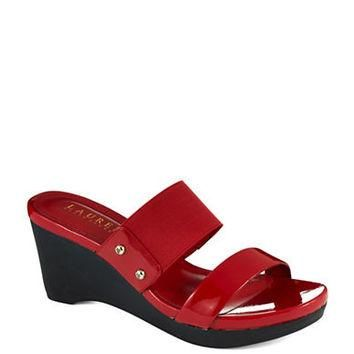 Lauren Ralph Lauren Rhianna Patent Leather Sandals