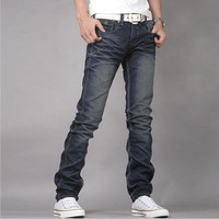 Fashion Men Skinny Fit Denim Jeans GZS