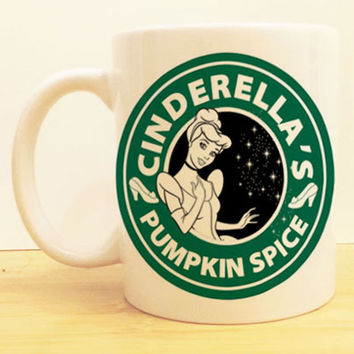Cinderella's Pumpkin Spice Coffee Mug |  Starbucks Disney Princess