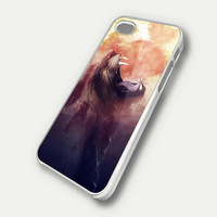 lion in universe fire digital case iPhone Case And Samsung Galaxy Case
