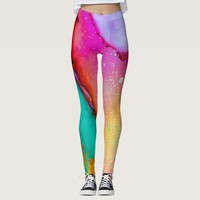 Coloring Mashup Leggings